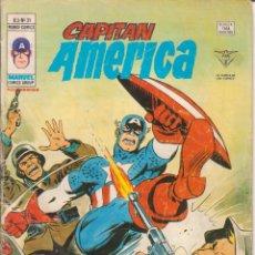 Cómics: CÓMIC ` CAPITÁN AMÉRICA ´ Nº 31 V.3 ED.VÉRTICE 1979 DE 40 PTS.. Lote 204429641