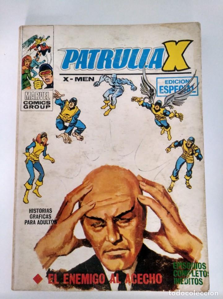 PATRULLA X 7. VERTICE. EL ENEMIGO AL ACECHO. (Tebeos y Comics - Vértice - Patrulla X)