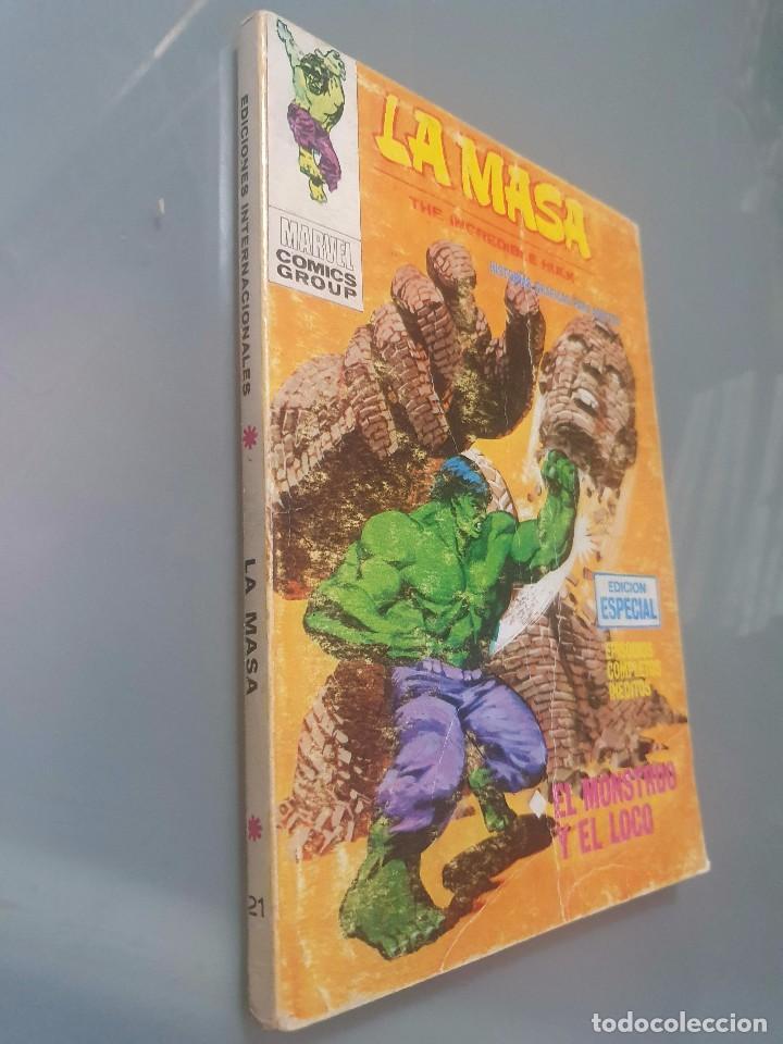 LA MASA 21 (Tebeos y Comics - Vértice - V.1)