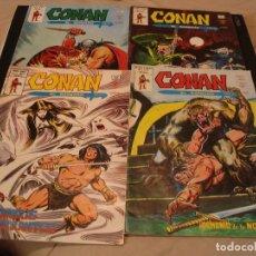 Cómics: LOTE 4 X CONAN EL BÁRBARO V. 2 Nº 36-37-40-42 VERTICE MARVEL. Lote 204493891