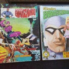 Cómics: LOTE 2 TEBEOS / CÓMIC ORIGINALES EL HOMBRE ENMASCARADO THE PHANTOM VÉRTICE VALENCIANA. Lote 204506611