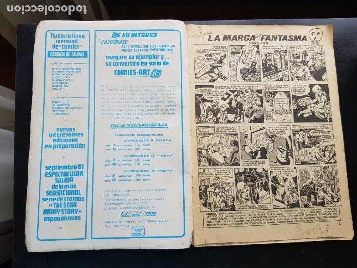 Cómics: LOTE 2 TEBEOS / CÓMIC ORIGINALES EL HOMBRE ENMASCARADO THE PHANTOM VÉRTICE VALENCIANA - Foto 3 - 204506611