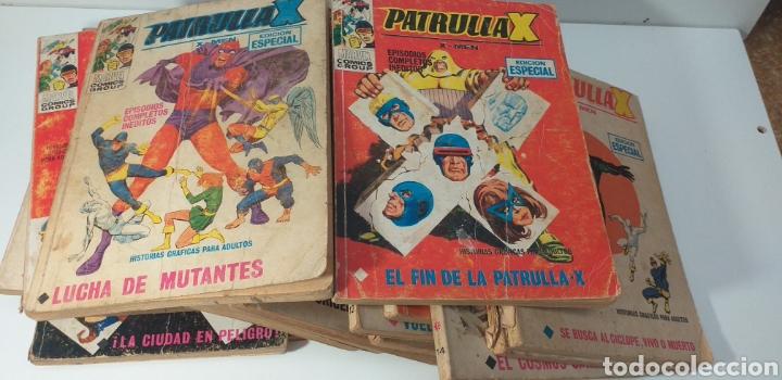 LOTE DE 19 COMIC DE PATRULLA X V1 (Tebeos y Comics - Vértice - Patrulla X)
