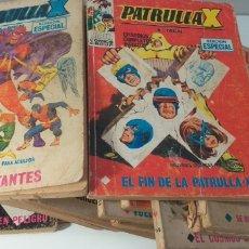 Cómics: LOTE DE 19 COMIC DE PATRULLA X V1. Lote 204541792
