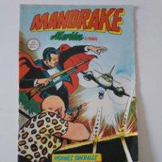 Cómics: MANDRAKE MERLÍN EL MAGO NÚMERO 13 CÓMICS ART 1981 EDICIONES VÉRTICE. Lote 204545232
