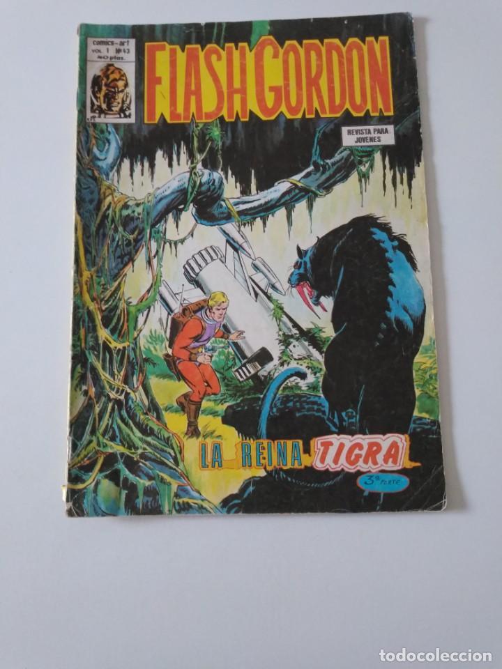 FLASH GORDON NÚMERO 43 V-1 CÓMICS ART 1979 EDICIONES VÉRTICE (Tebeos y Comics - Vértice - Flash Gordon)