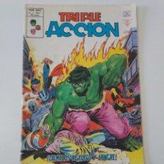 Cómics: TRIPLE ACCIÓN NÚMERO 14 V-1 MUNDI-COMICS 1979 EDICIONES VÉRTICE. Lote 204551608