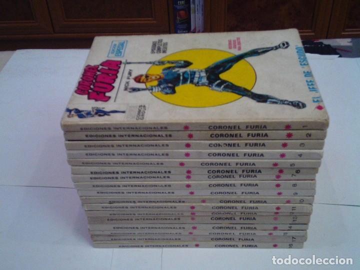 Cómics: CORONEL FURIA - VERTICE - VOLUMEN 1 - COLECCION COMPLETA - 17 NUMEROS - BUEN ESTADO - GORBAUD - Foto 2 - 204594837