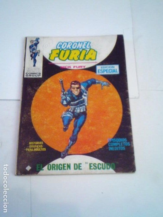 Cómics: CORONEL FURIA - VERTICE - VOLUMEN 1 - COLECCION COMPLETA - 17 NUMEROS - BUEN ESTADO - GORBAUD - Foto 11 - 204594837