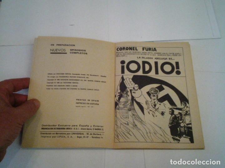Cómics: CORONEL FURIA - VERTICE - VOLUMEN 1 - COLECCION COMPLETA - 17 NUMEROS - BUEN ESTADO - GORBAUD - Foto 23 - 204594837