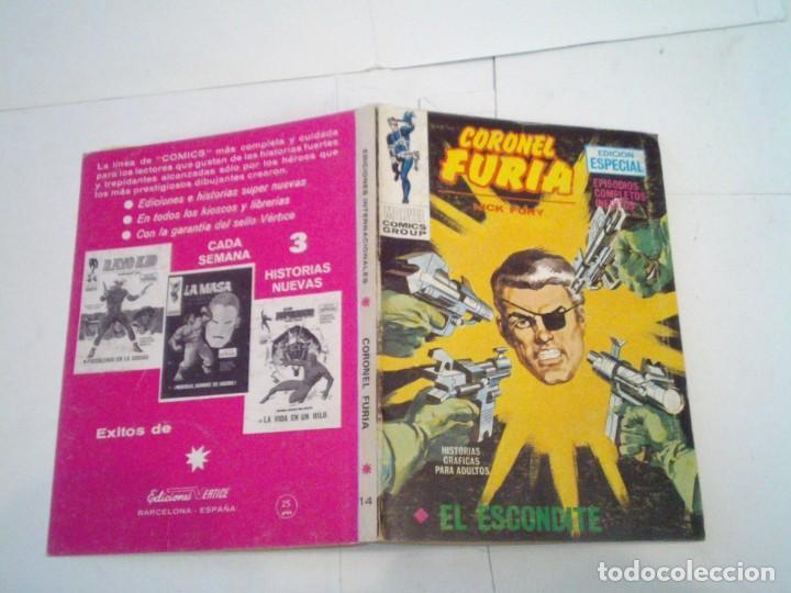 Cómics: CORONEL FURIA - VERTICE - VOLUMEN 1 - COLECCION COMPLETA - 17 NUMEROS - BUEN ESTADO - GORBAUD - Foto 80 - 204594837