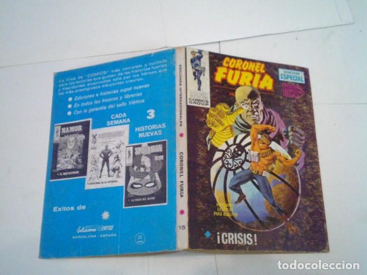 Cómics: CORONEL FURIA - VERTICE - VOLUMEN 1 - COLECCION COMPLETA - 17 NUMEROS - BUEN ESTADO - GORBAUD - Foto 86 - 204594837