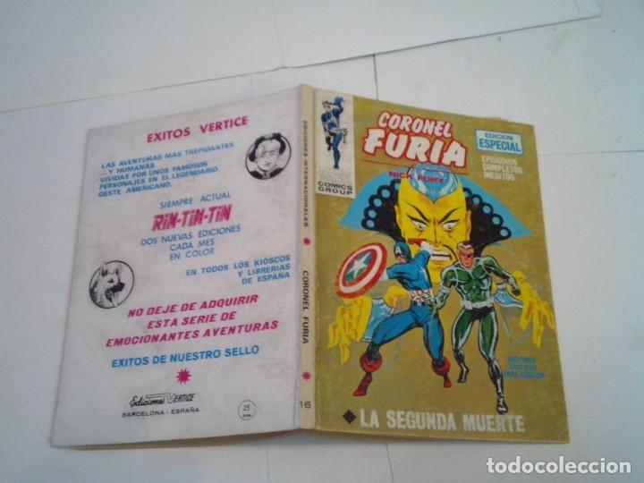 Cómics: CORONEL FURIA - VERTICE - VOLUMEN 1 - COLECCION COMPLETA - 17 NUMEROS - BUEN ESTADO - GORBAUD - Foto 97 - 204594837
