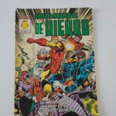 Cómics: EL HOMBRE DE HIERRO NÚMERO 8 MUNDI-COMICS 1981 EDICIONES VÉRTICE. Lote 204597932