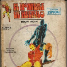 Cómics: EL HOMBRE DE HIERRO V1 Nº 8 EL PRECIO DE UNA VIDA, MAL ESTADO. EMPIEZA EN PÁG. 7. FALTAN 127, 128. Lote 204703452