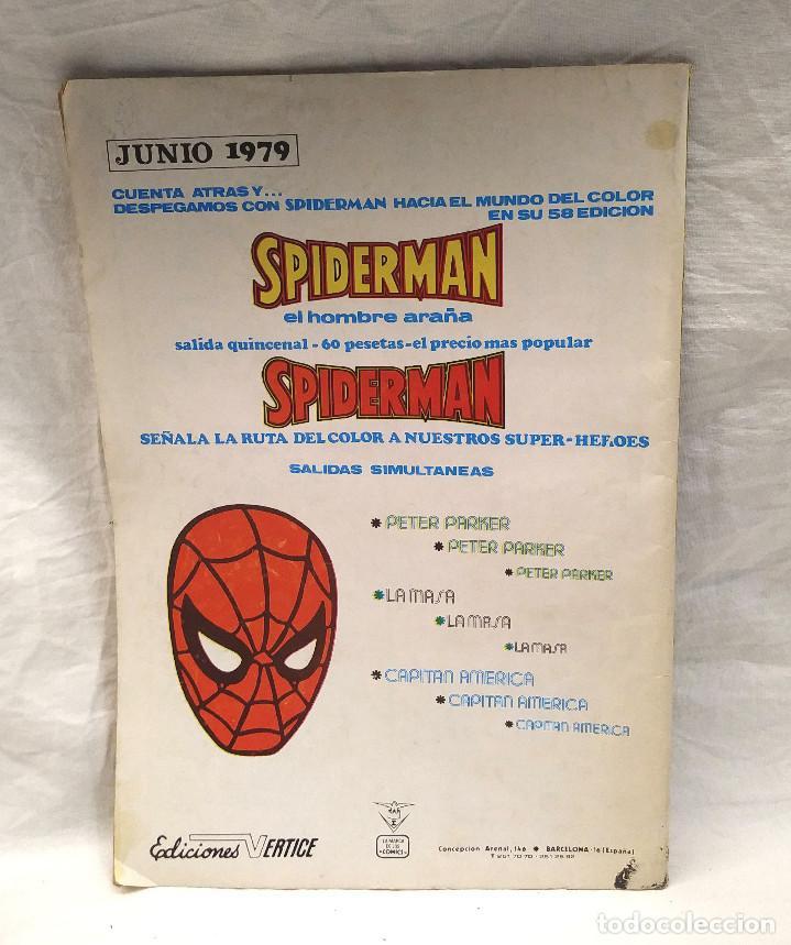 Cómics: El Hombre de Hierro y Dan Defensor Vol 2 nº 54 Heroes Marvel Vertice año 1975 - Foto 2 - 204728872