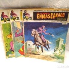 Cómics: EL HOMBRE ENMASCARADO Nº 8, 29 Y 30 EDICIONES VERTICE AÑO 1973. Lote 204729787