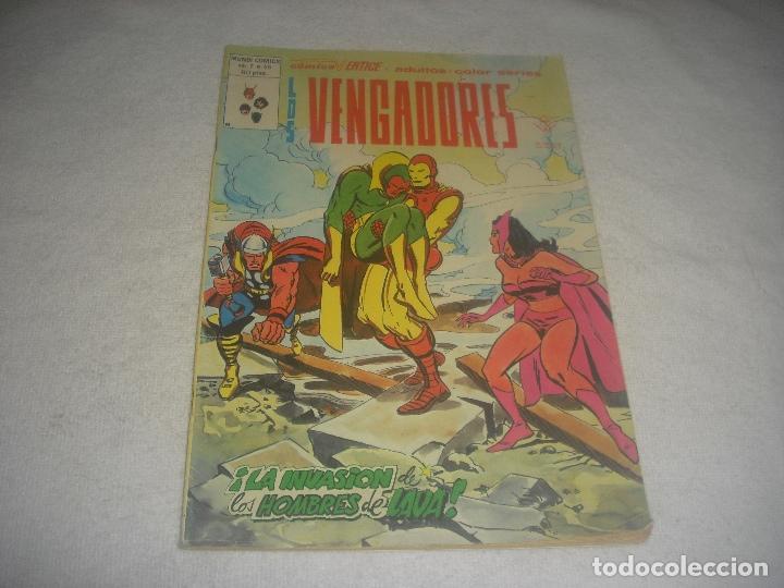 LOS VENGADORES VOL 2 N. 46. COMICS VERTICE. (Tebeos y Comics - Vértice - Surco / Mundi-Comic)