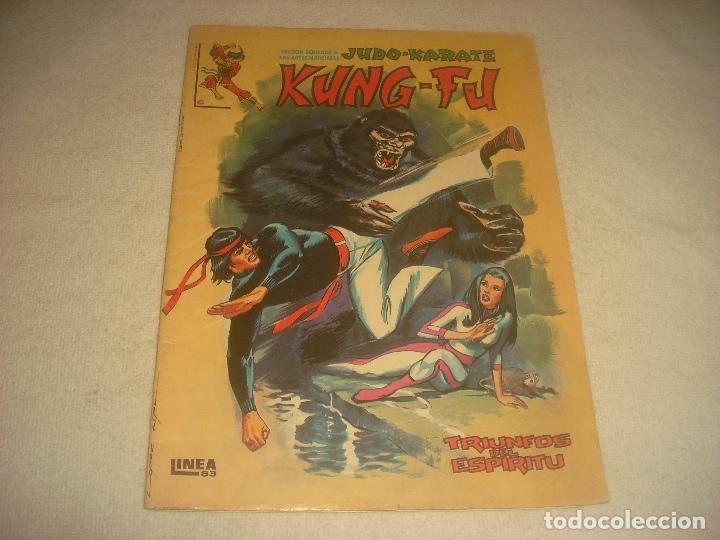 KUNG FU, JUDO , KARATE N. 6 . TRIUNFOS DEL ESPIRITU . (Tebeos y Comics - Vértice - Surco / Mundi-Comic)