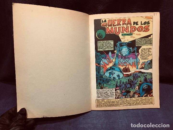 Cómics: LA GUERRA DE LOS MUNDOS MUNDI CÓMICS CLÁSICOS Nº 2 EDICIONES VÉRTICE 1981 - Foto 8 - 204775215