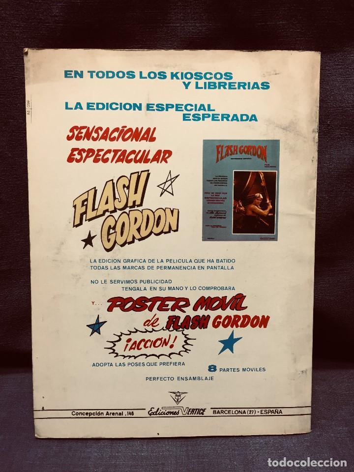 Cómics: LA GUERRA DE LOS MUNDOS MUNDI CÓMICS CLÁSICOS Nº 2 EDICIONES VÉRTICE 1981 - Foto 3 - 204775215
