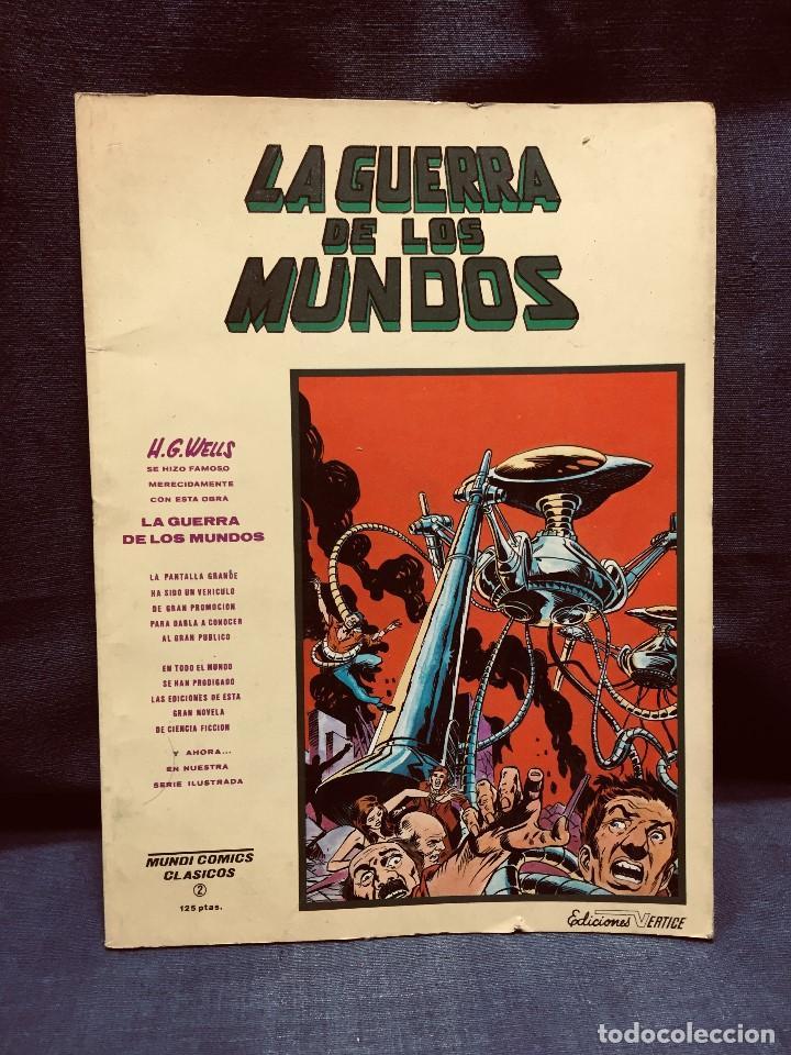 LA GUERRA DE LOS MUNDOS MUNDI CÓMICS CLÁSICOS Nº 2 EDICIONES VÉRTICE 1981 (Tebeos y Comics - Vértice - Otros)