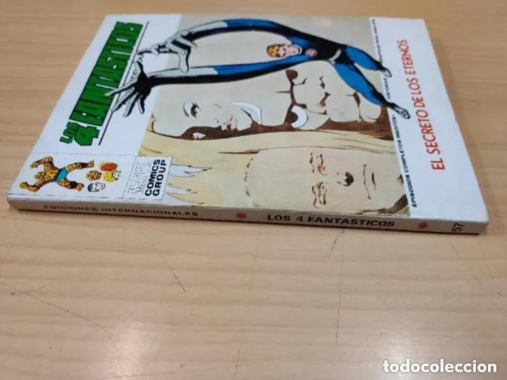 Cómics: LOS 4 FANTASTICOS, V.1 nº57, EDT. VERTICE, LOS SECRETOS DE LOS ETERNOS, 1973 - Foto 2 - 205002533