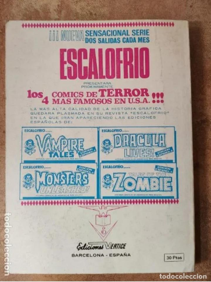 Cómics: LOS 4 FANTASTICOS, V.1 nº57, EDT. VERTICE, LOS SECRETOS DE LOS ETERNOS, 1973 - Foto 5 - 205002533