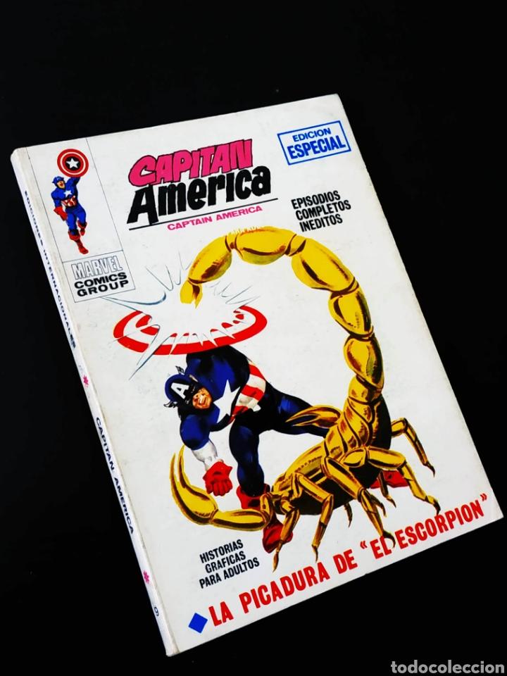 DE KIOSCO CAPITAN AMERICA 9 TACO VERTICE (Tebeos y Comics - Vértice - Capitán América)