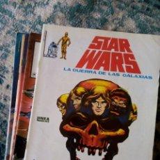 Comics : STAR WARS COLECCIÓN COMPLETA SURCO, 8 EJEMPLARES. VÉRTICE. Lote 205029450