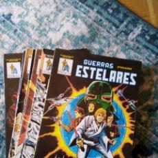 Comics : GUERRAS ESTELARES - LA GUERRA DE LAS GALAXIAS. COLECC. COMPLETA 9 UDS. VÉRTICE. Lote 205030595