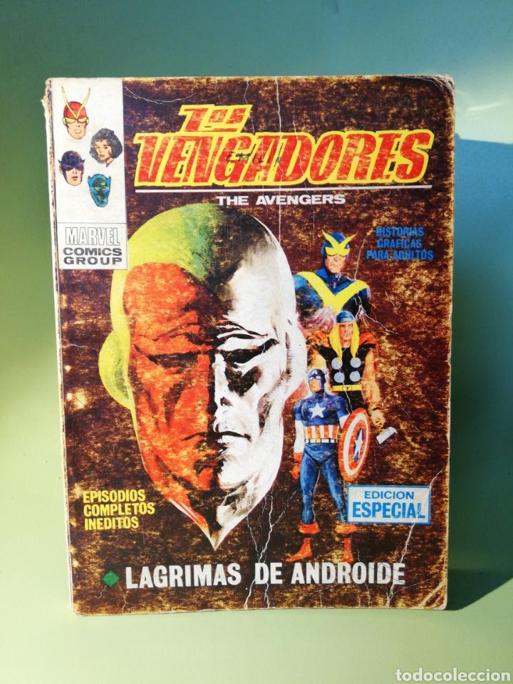 LOS VENGADORES 26 VOLUMEN 1 COMICS EDICIONES VERTICE 1971 (Tebeos y Comics - Vértice - Vengadores)