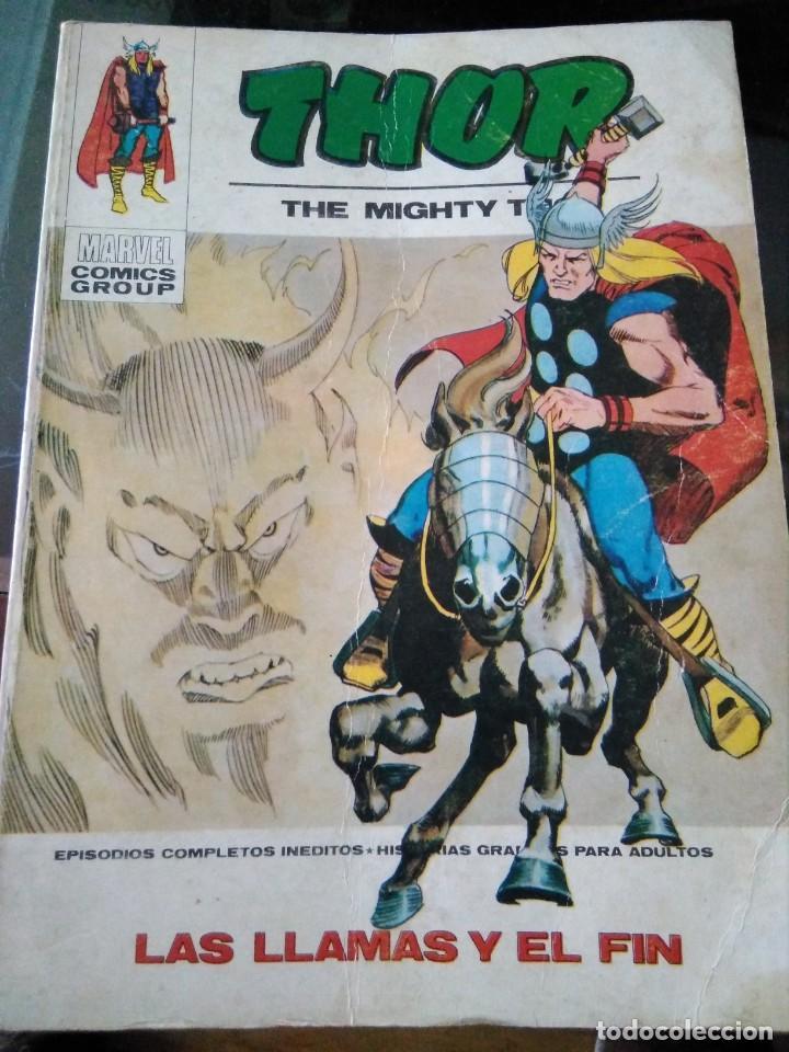 COMIC MARVEL EDICIONES VÉRTICE, THOR , LAS LLAMAS Y EL FIN 34 (Tebeos y Comics - Vértice - Thor)