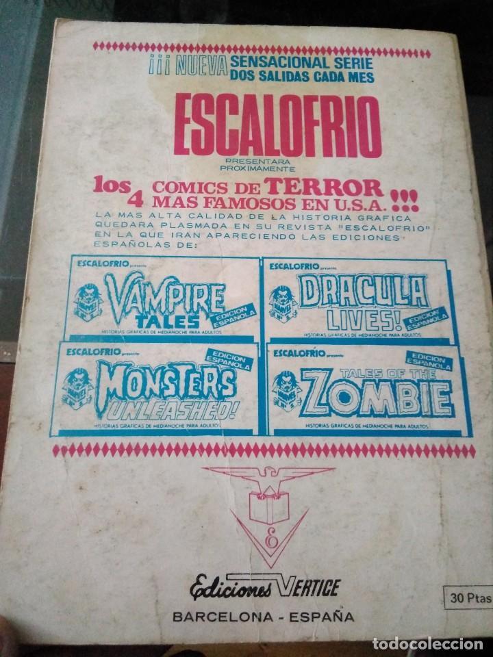 Cómics: Comic Marvel ediciones Vértice, THOR , LAS LLAMAS Y EL FIN 34 - Foto 2 - 205247516