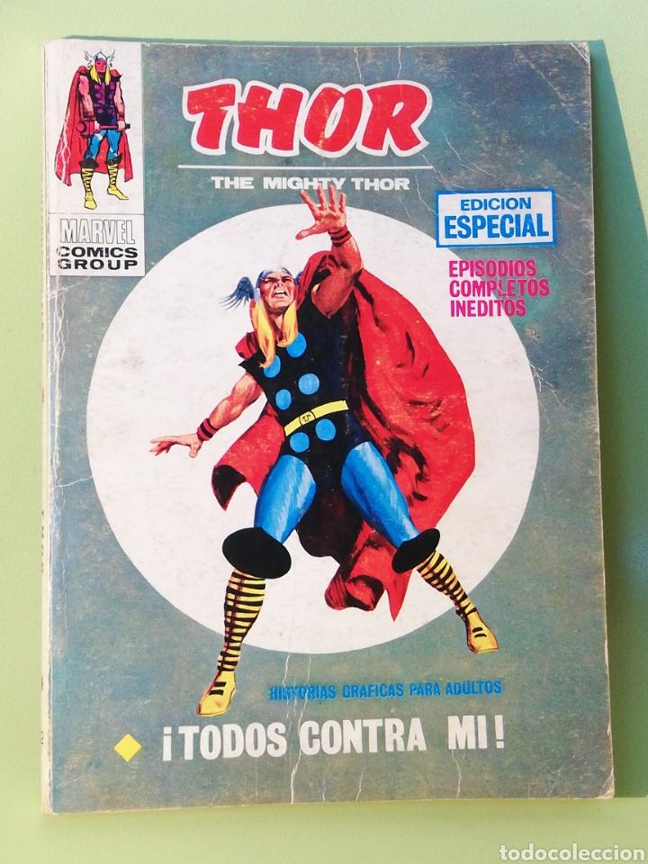 THOR 12 VOLUMEN 1 COMICS EDICIONES VERTICE 1971 (Tebeos y Comics - Vértice - Thor)