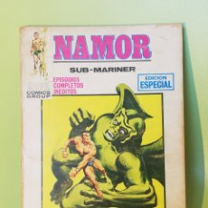 Cómics: NAMOR 6 VOLUMEN 1 COMICS EDITORIAL VÉRTICE 1971. Lote 205299286