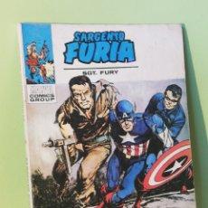 Comics: SARGENTO FURIA 7 VOLUMEN 1 COMICS EDITORIAL VÉRTICE 1972. Lote 205312818