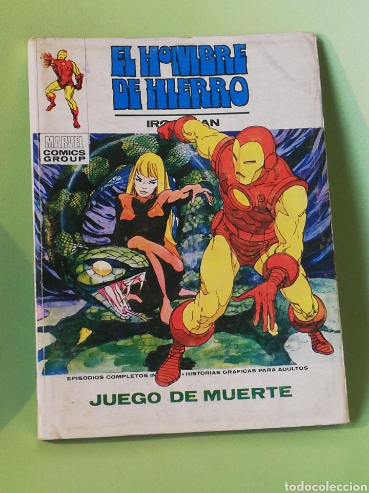 EL HOMBRE DE HIERRO 26 VOLUMEN 1 COMICS EDITORIAL VÉRTICE 1973 (Tebeos y Comics - Vértice - Hombre de Hierro)