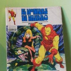Cómics: EL HOMBRE DE HIERRO 26 VOLUMEN 1 COMICS EDITORIAL VÉRTICE 1973. Lote 205318472