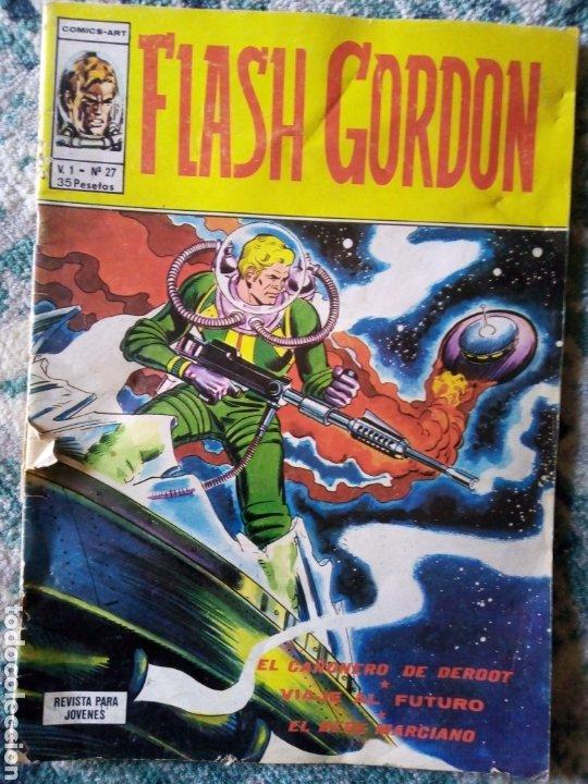 FLASH GORDON VOL 1 NÚM 27. VÉRTICE (Tebeos y Comics - Vértice - Flash Gordon)