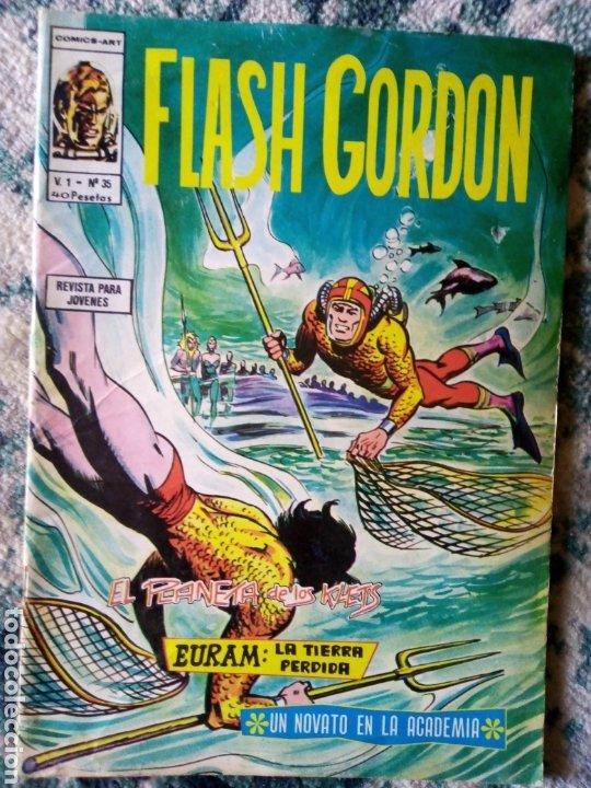 FLASH GORDON VOL 1, NÚM 35. VÉRTICE (Tebeos y Comics - Vértice - Flash Gordon)