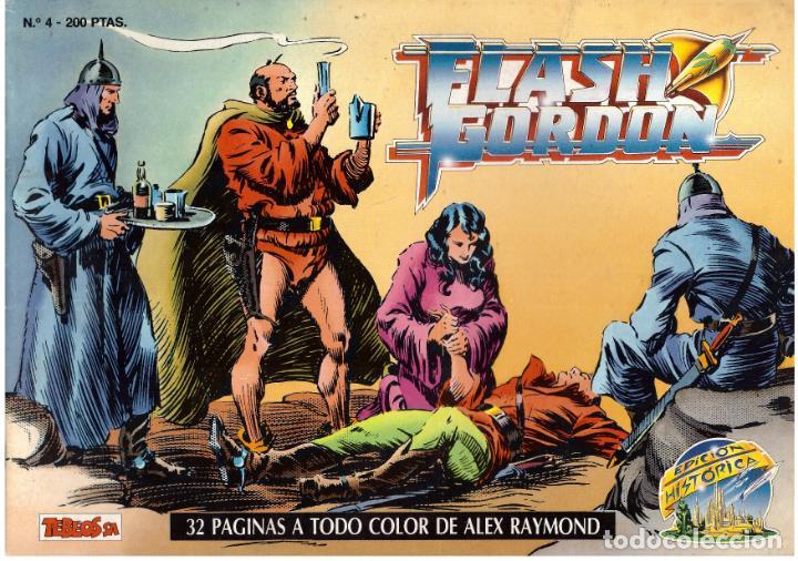 COMIC FLASH GORDON, EDICION HISTORICA, Nº 4 (Tebeos y Comics - Vértice - Flash Gordon)