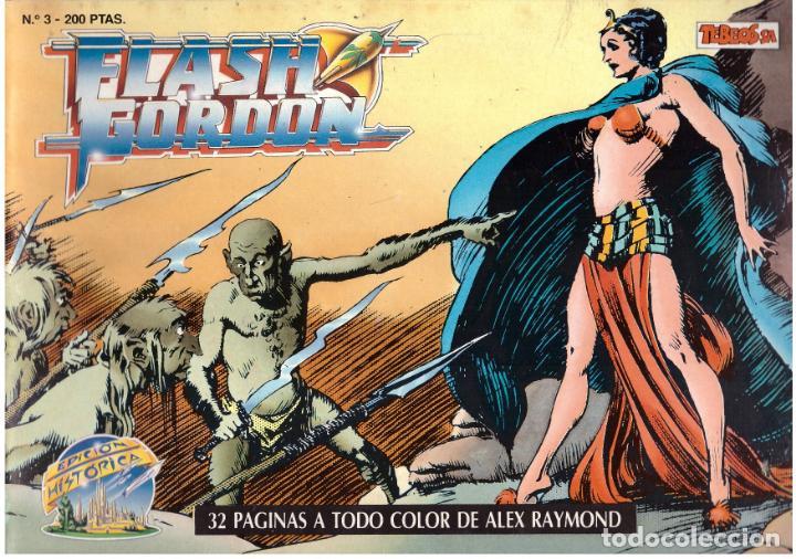 COMIC FLASH GORDON, EDICION HISTORICA, Nº 3 (Tebeos y Comics - Vértice - Flash Gordon)