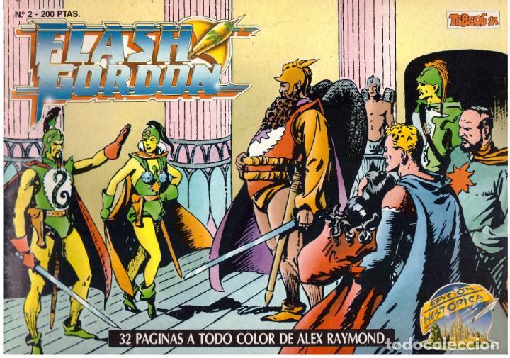 COMIC FLASH GORDON, EDICION HISTORICA, Nº 2 (Tebeos y Comics - Vértice - Flash Gordon)
