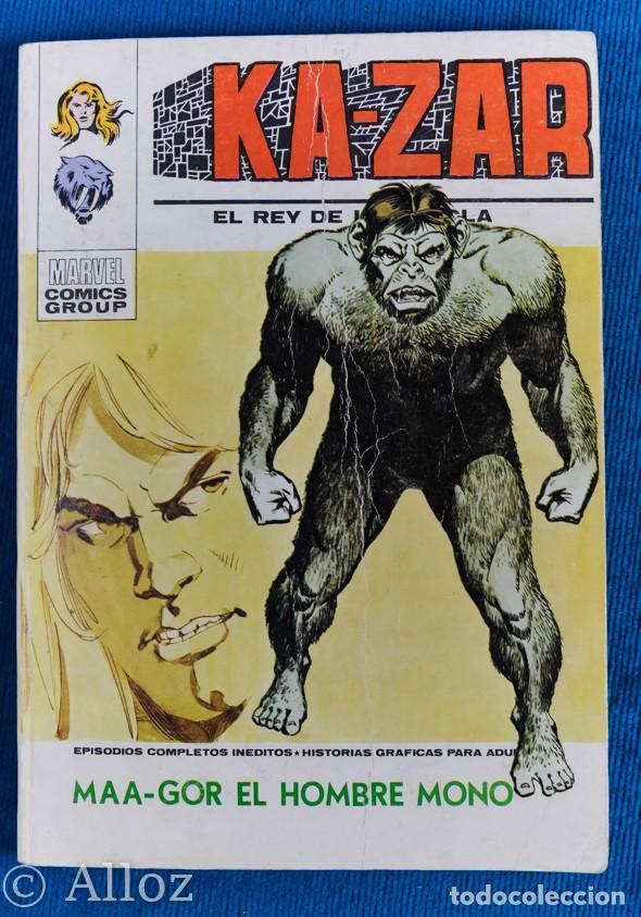 KA-ZAR...,Nº3 VÉRTICE TACO, COMPLETO (Tebeos y Comics - Vértice - V.1)
