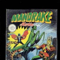 Cómics: MANDRAKE MERLIN EL MAGO N,3 SUPER ELECTRICO EDICIONES VERTICE. Lote 205510635