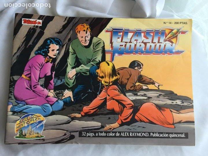 LOTE FLASH GORDON EDICIÓN HISTÓRICA. 10 NÚMEROS (Tebeos y Comics - Vértice - Flash Gordon)