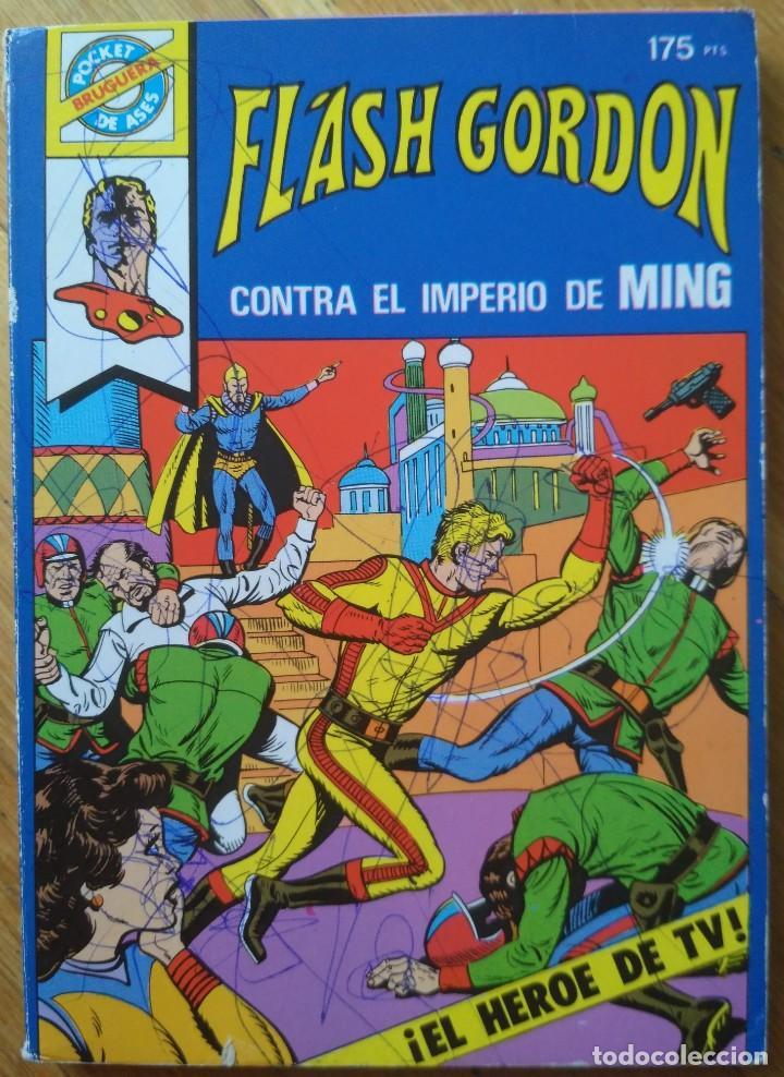 FL'ASH GORDON CONTRA EL IMPERIO DE MING. Nº 14. AÑO 1982 (Tebeos y Comics - Vértice - Flash Gordon)
