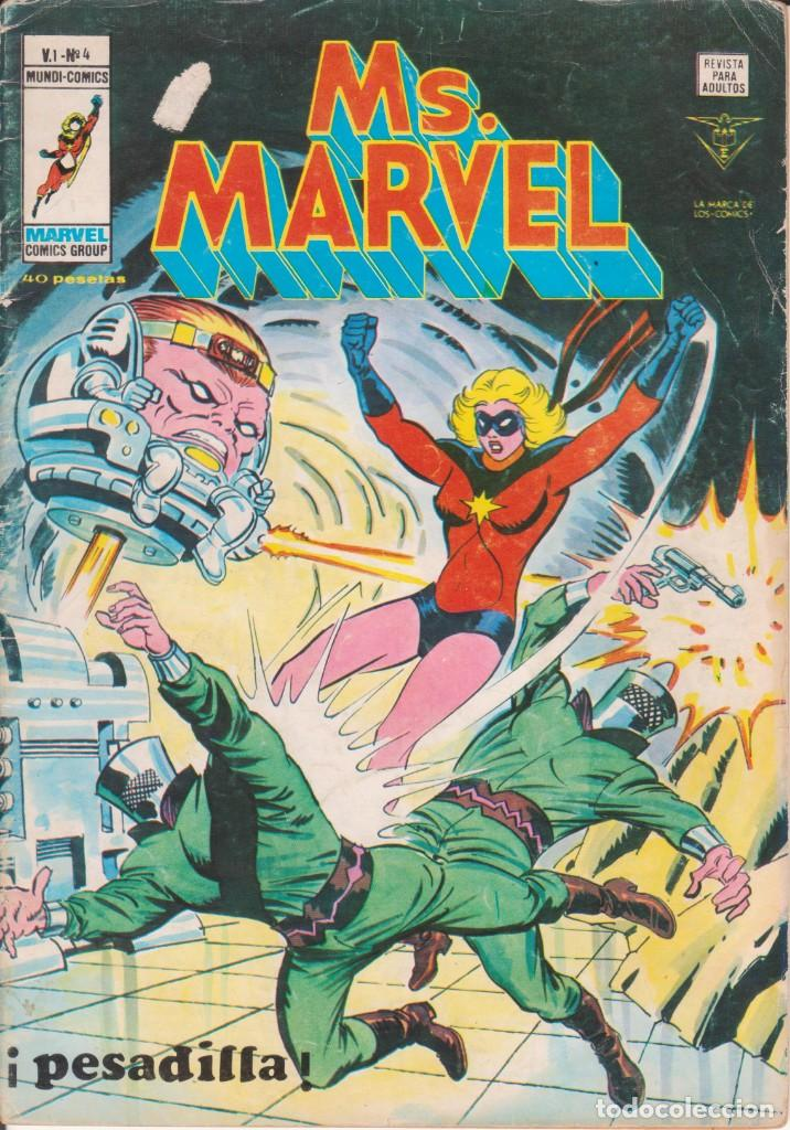 Cómics: CÓMIC ` Ms. MARVEL ´ Nº 4 V.1 ED. VÉRTICE 1978 - Foto 1 - 205536360