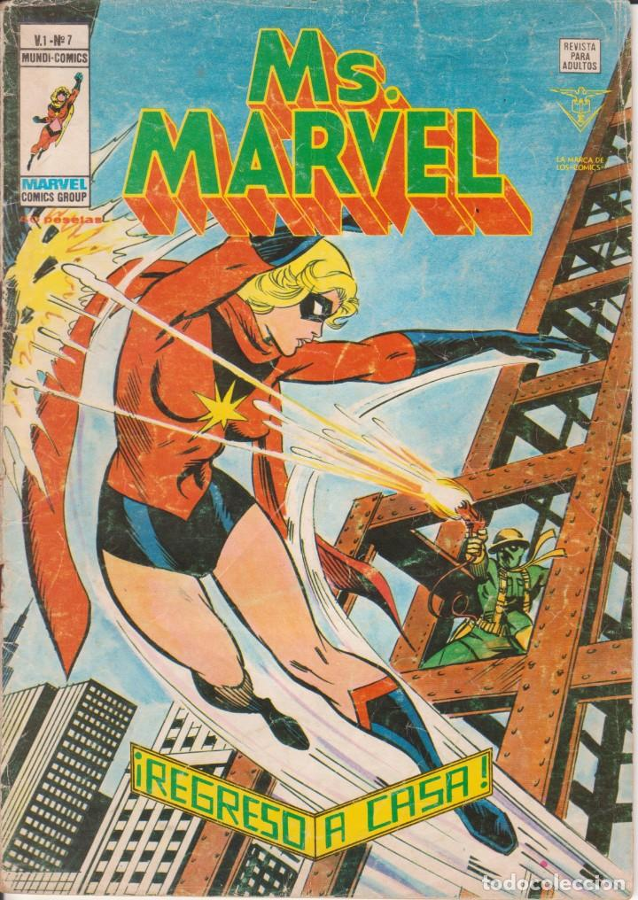 Cómics: CÓMIC ` Ms. MARVEL ´ Nº 7 V.1 ED. VÉRTICE 1978 - Foto 1 - 205537161